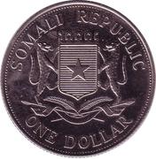 1 Dollar (John Paul II) – avers