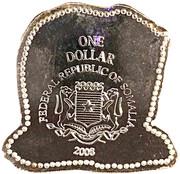 1 Dollar (Polar Bear) – avers