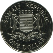1 Dollar (Pope Benedict XVI) – avers
