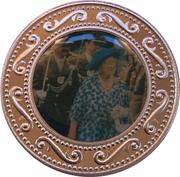 1 Dollar - HM Queen Elizabeth the Queen Mother - Parade – revers
