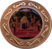 1 Dollar - HM Queen Elizabeth the Queen Mother - Catafalque – revers