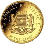 50 shillings (Elephant) -  avers