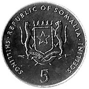 5 shillings (FAO) – avers