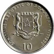 10 shillings (FAO) – avers