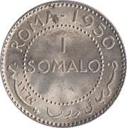 1 somalo – revers