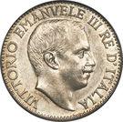 1 rupia - Vittorio Emanuele III – avers