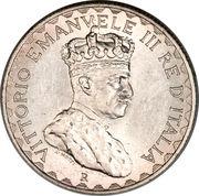 5 lire - Vittorio Emanuelle III – avers