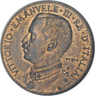 2 bese - Vittorio Emanuele III – avers