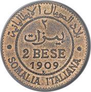 2 bese - Vittorio Emanuele III (Essai) – revers