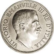1 roupie - Vittorio Emanuelle III (Essai) – avers