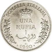 1 roupie - Vittorio Emanuelle III (Essai) – revers