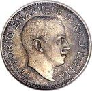½ Rupia - Vittorio Emanuele III (Essai) – avers