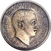 ½ roupie - Vittorio Emanuele III (Essai) – avers