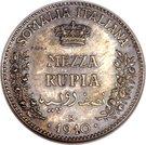 ½ Rupia - Vittorio Emanuele III (Essai) – revers