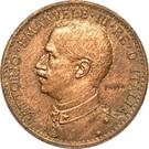 1 Besa - Vittorio Emanuele III – avers