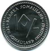 10 shillings (Poisson) -  avers