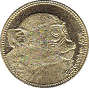 5 Shillings (Cercocebus Atys) – revers