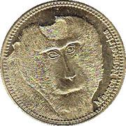 5 Shillings (Macaca Nemestrina) – revers