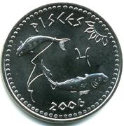 10 shillings (Poisson) – avers