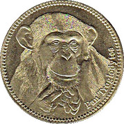 5 Shillings (Pan Troglodytes) – revers
