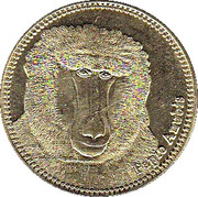 5 Shillings (Papio Anubis) – revers