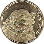 5 Shillings (Saimiri Schureus) – revers