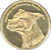 5 Shillings   American Staffordshire Terrier – revers