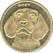 5 Shillings   (Beagle) – revers
