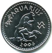 10 shillings (Verseau) – avers