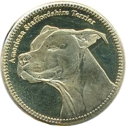 5 Shillings   American Staffordshire Terrier – revers