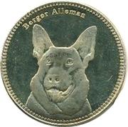 5 Shillings   German shepherd – revers