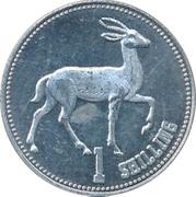 1 shilling (Gazelle) – revers