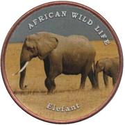 1 Shilling (Elefant) – revers