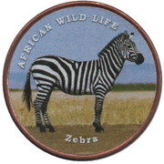 1 Shilling (Zebra) – revers