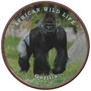 1 shilling (Gorille) – revers
