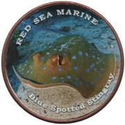 1 Shilling (Blue spotted stingray) – revers