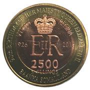 2500 Shillings (Elizabeth II 90th Anniversary -  Queen of Sierra Leone) -  avers
