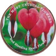 1 shilling (Fleur Bleeding Heart rouge) – revers