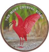 1 shilling (Ibis rouge) – revers