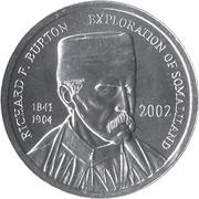 5 shillings – avers
