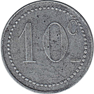 10 centimes (Chambre de commerce) – revers