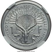 1 franc (Piedfort Essai) – revers