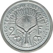 2 francs (Piedfort Essai) – revers