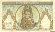 100 Francs (black text) – revers