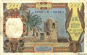 5 000 Francs (Côte Française des Somalis) – revers