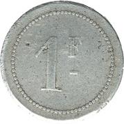 1 franc (Chambre de commerce) – revers
