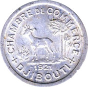 5 centimes (Chambre de commerce) – avers