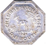 25 centimes (Chambre de commerce) – avers