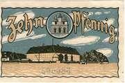 10 Pfennig (Sonderburg) – revers