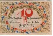 10 Pfennig (Stadt Donneberg a/M) – avers